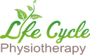 Life Cycle Physiotherapy leaf logo